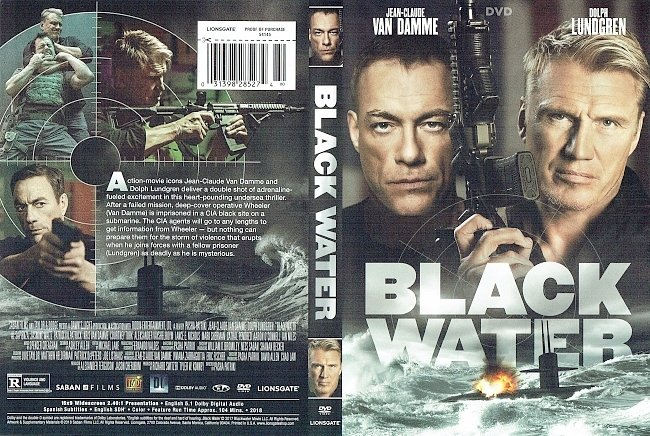 dvd cover Black Water DVD Cover