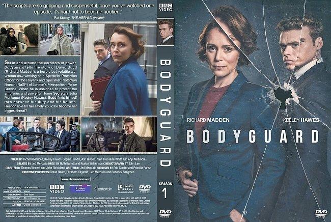 dvd cover Bodyguard Season 1 DVD Cover