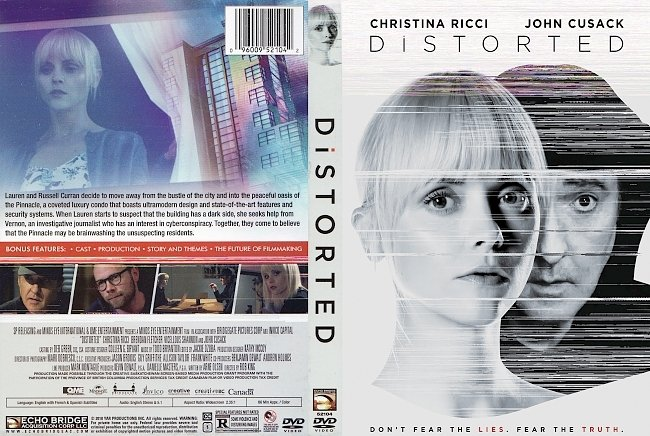 dvd cover Distorted DVD Cover