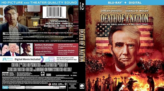 dvd cover Death of a Nation Bluray Cover