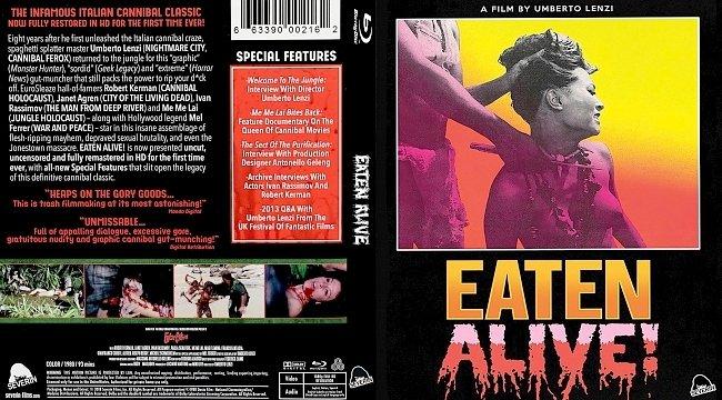 dvd cover Eaten Alive! Bluray Cover