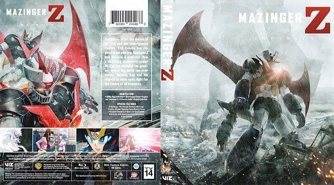dvd cover Mazinger Z: Infinity Bluray Cover