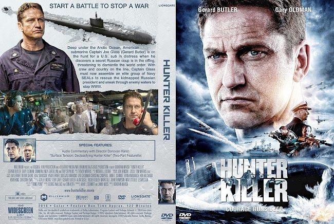 dvd cover Hunter Killer DVD Cover