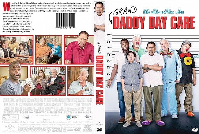 dvd cover Grand-Daddy Day Care DVD Cover