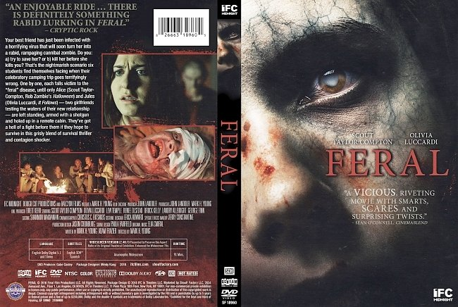 dvd cover Feral DVD Cover