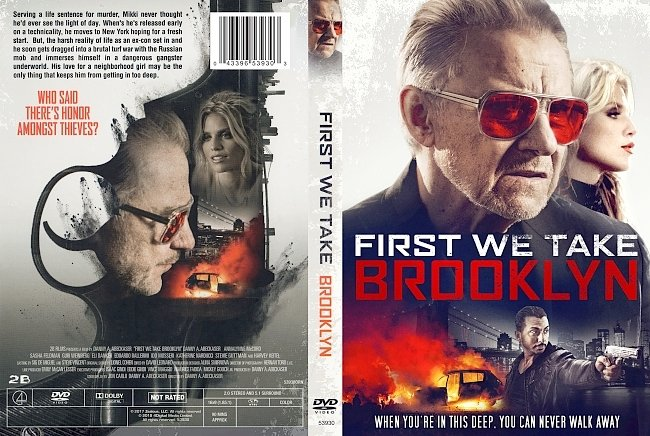 dvd cover First We Take Brooklyn DVD Cover