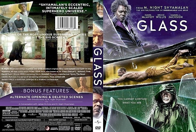 dvd cover Glass DVD Cover
