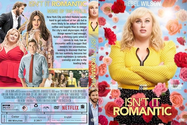 dvd cover Isn't It Romantic DVD Cover