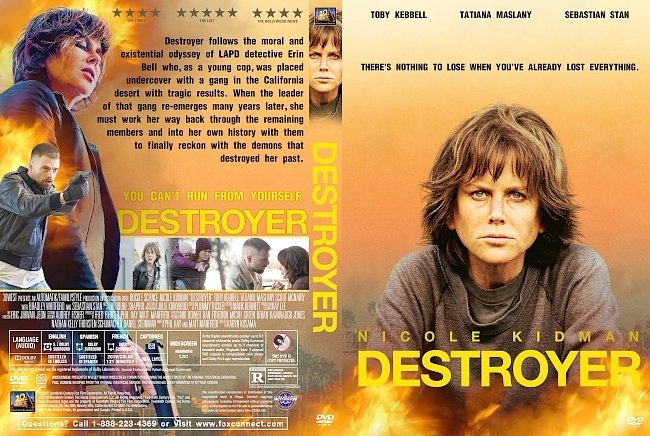 dvd cover Destroyer DVD Cover