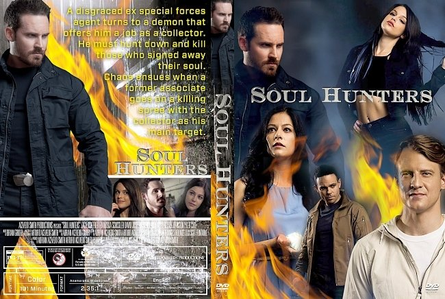 dvd cover Soul Hunters DVD Cover