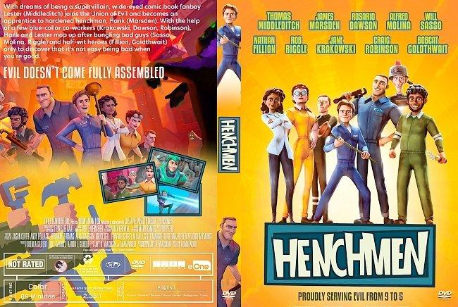 dvd cover Henchmen DVD Cover