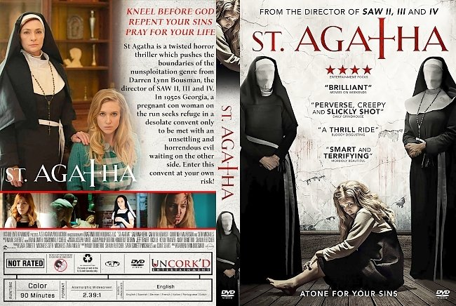 dvd cover St. Agatha DVD Cover