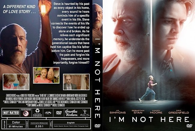 dvd cover I'm Not Here DVD Cover