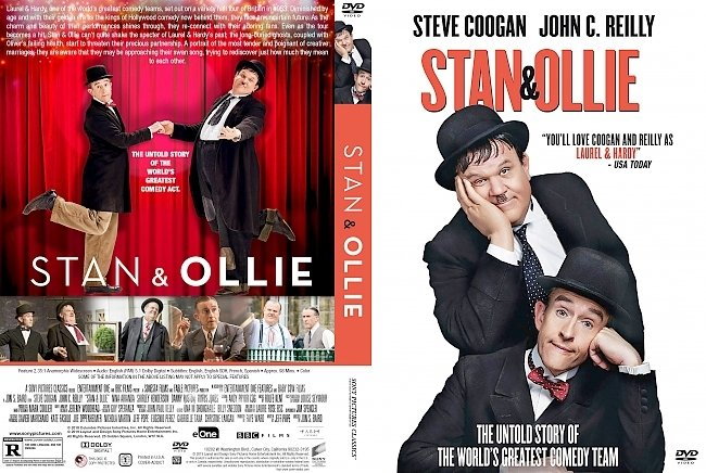 dvd cover Stan & Ollie DVD Cover