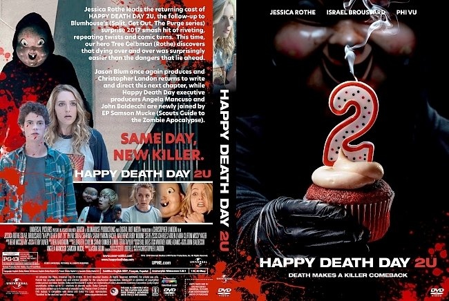 dvd cover Happy Death Day 2U DVD Cover