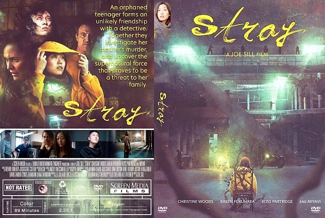 dvd cover Stray DVD Cover