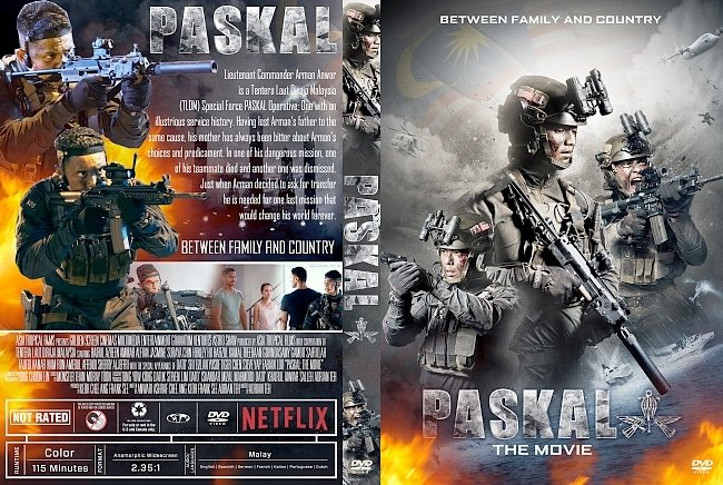 dvd cover Paskal: The Movie DVD Cover