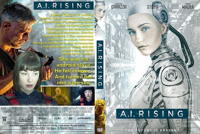 dvd cover A.I. Rising DVD Cover