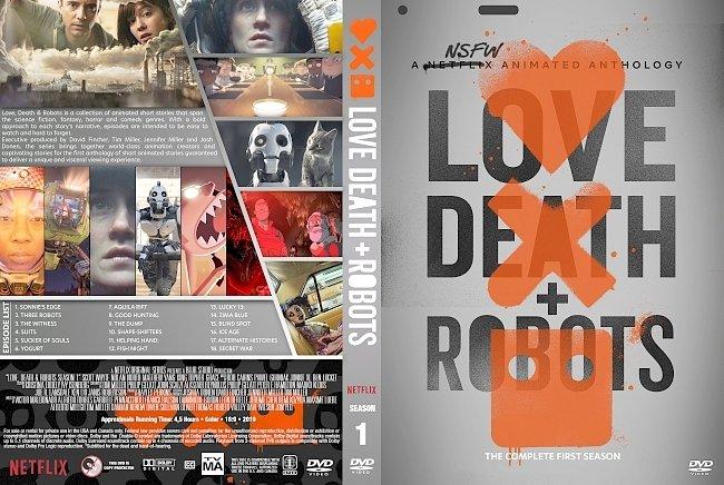 dvd cover Love, Death & Robots (Love Death And Robots) Season 1 DVD Cover