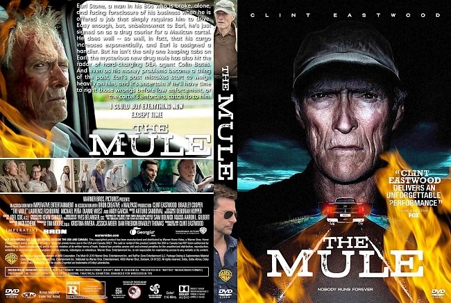 dvd cover The Mule DVD Cover