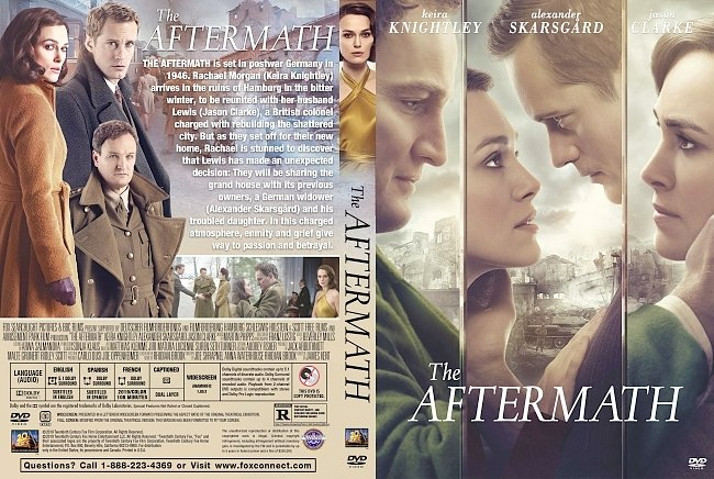 dvd cover The Aftermath DVD Cover