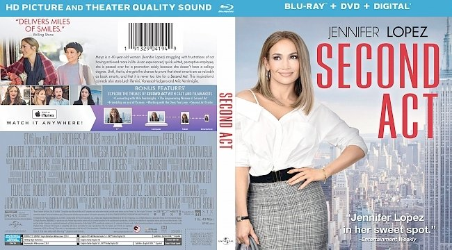 dvd cover Second Act Bluray Cover