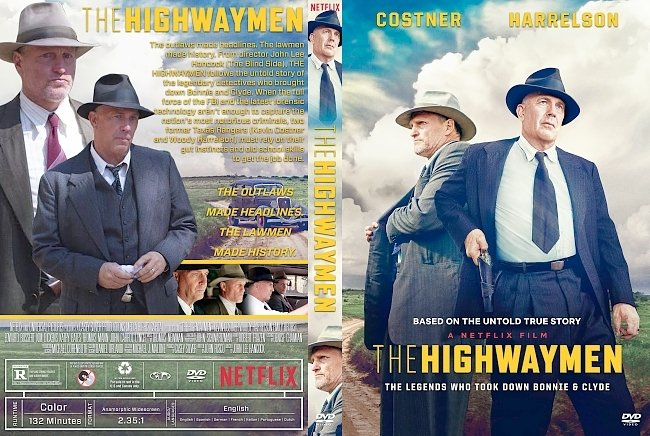 dvd cover The Highwaymen DVD Cover
