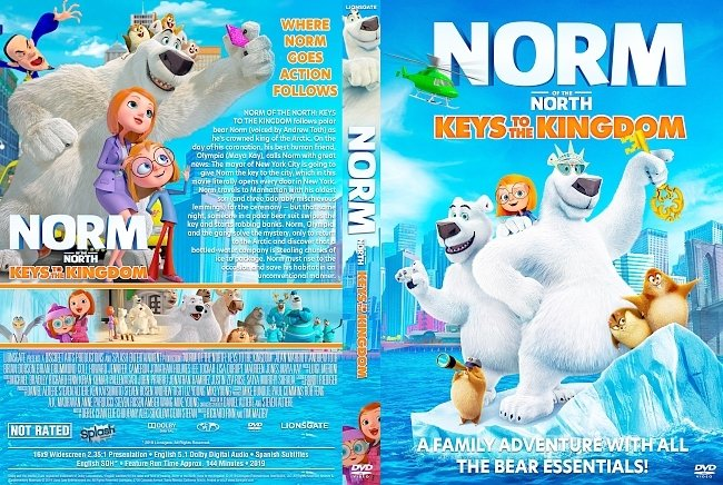 dvd cover Norm of the North: Keys to the Kingdom DVD Cover