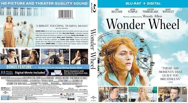 dvd cover Wonder Wheel Bluray Cover