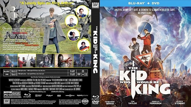 dvd cover The Kid Who Would Be King Bluray Cover