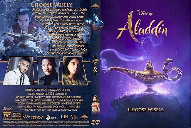 dvd cover Aladdin 2019 DVD Cover