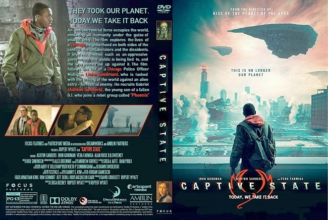 dvd cover Captive State DVD Cover