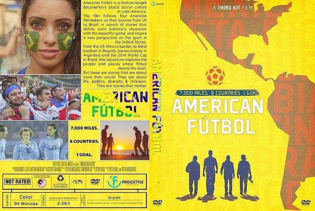 dvd cover American Fútbol DVD Cover