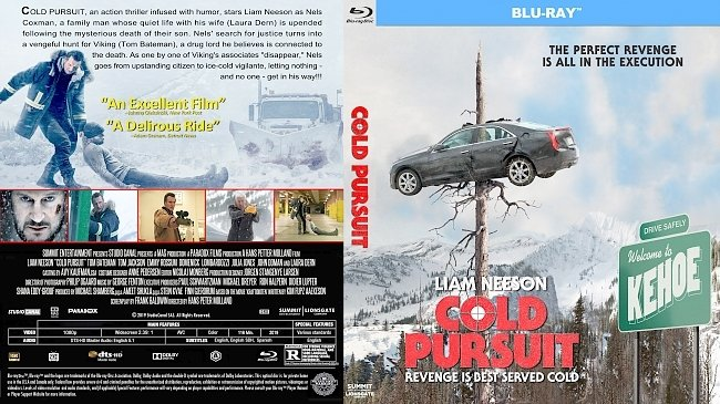 dvd cover Cold Pursuit Bluray Cover