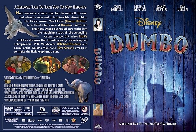 dvd cover Dumbo DVD Cover