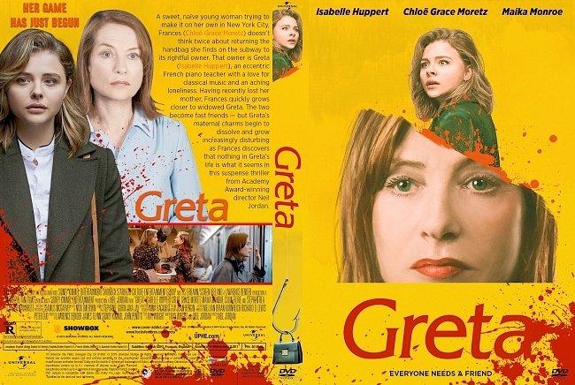 dvd cover Greta DVD Cover