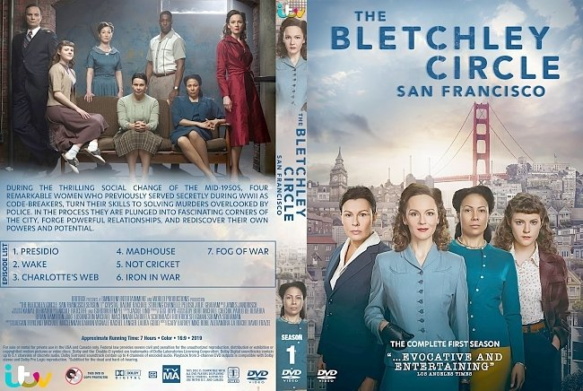 dvd cover The Bletchley Circle: San Francisco DVD Cover