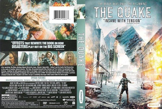 dvd cover The Quake DVD Cover
