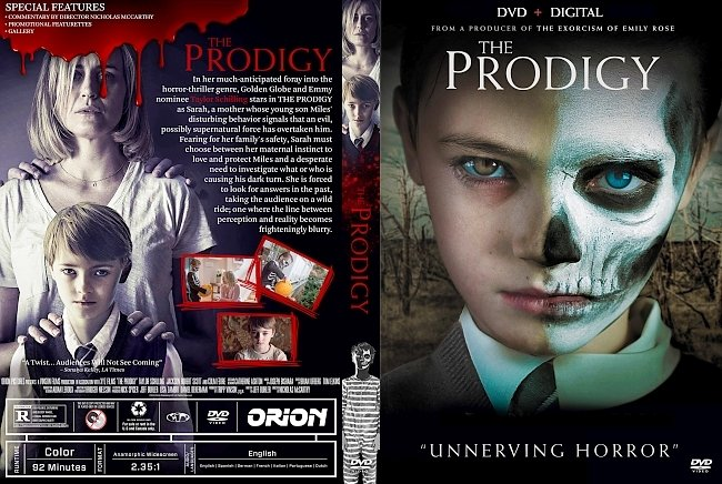 dvd cover The Prodigy DVD Cover