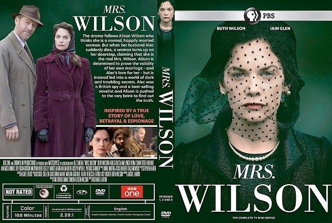 dvd cover Mrs. Wilson The Complete Season DVD Cover