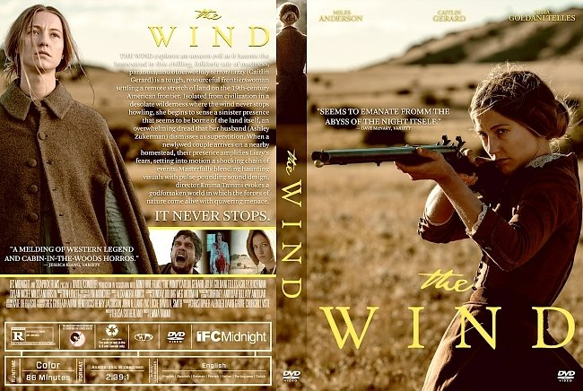 dvd cover The Wind DVD Cover