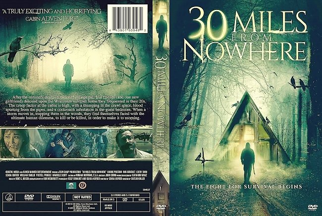 dvd cover 30 Miles from Nowhere DVD Cover