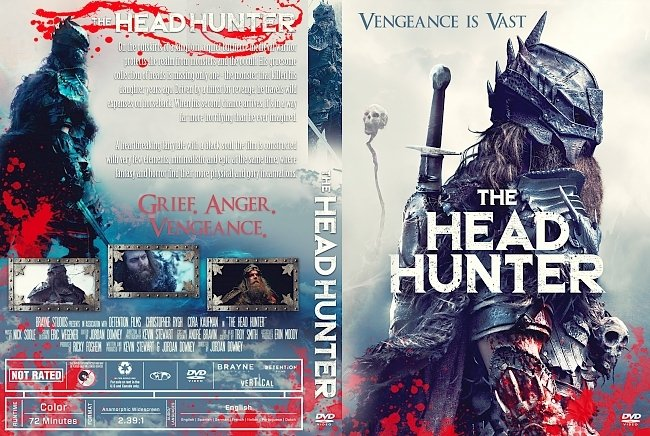 dvd cover The Head Hunter DVD Cover