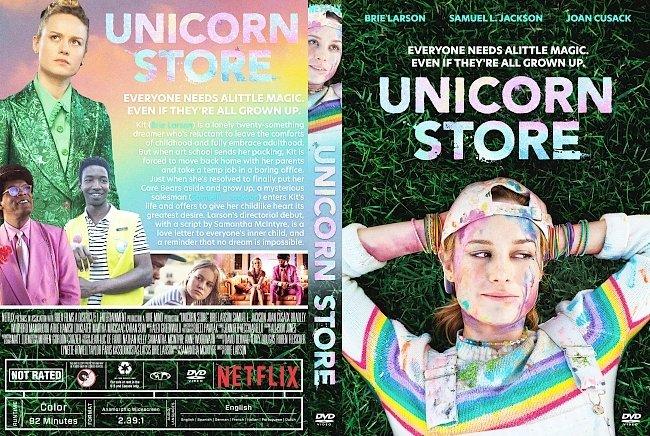 dvd cover Unicorn Store DVD Cover