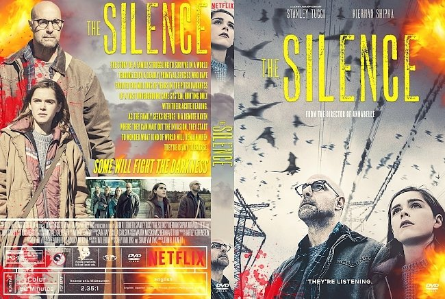 dvd cover The Silence DVD Cover