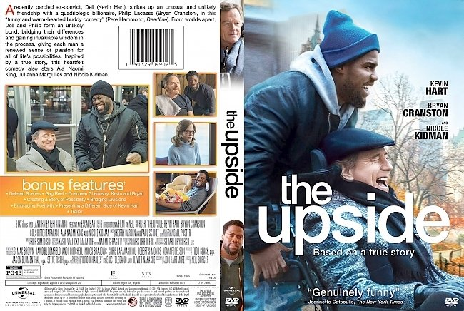 dvd cover The Upside DVD Cover