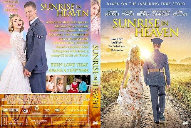 dvd cover Sunrise in Heaven DVD Cover