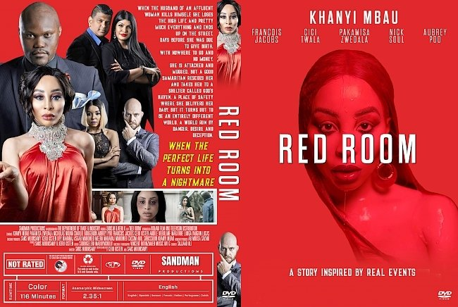 dvd cover Red Room DVD Cover