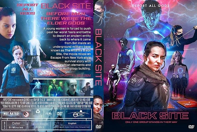 dvd cover Black Site DVD Cover