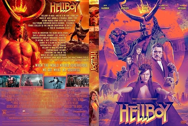 dvd cover Hellboy DVD Cover